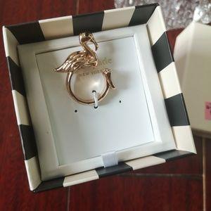 Kate spade flamingo ring rose gold size 6 7 8